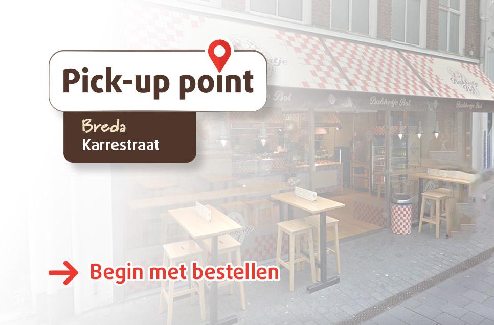 Bakkertje Bol_Pickup Point_Breda_Karrestraat