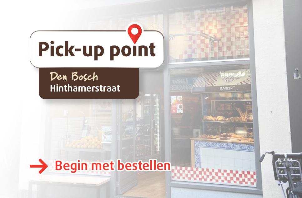 Bakkertje Bol_Pickup Point_Den Bosch_Hinthamerstraat