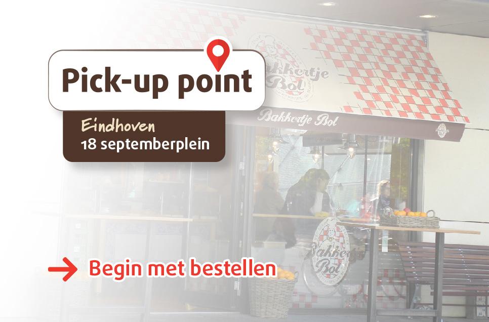Bakkertje Bol_Pickup Point_Eindhoven_18 Septemberplein